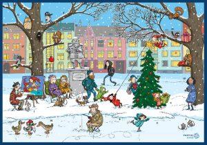 Kiitoksia joulun ahkerille myyjille!